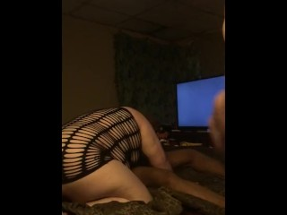 Beautiful babe wife takes a bbc
