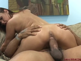 Mommy with Bigtits takes a Blackzilla cock pounding!