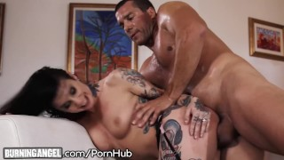 Big Cock Pounds Joanna Angel to Jizz Explosion on Tattoos! Rawporntryouts.com amateur