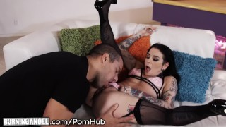 Big Cock Pounds Joanna Angel to Jizz Explosion on Tattoos! porno
