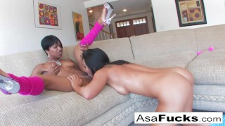 Asa's Hot Girl on Girl With Marie Luv porno