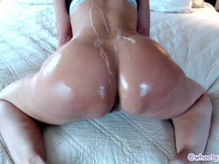 Oiled Cum Shot Twerking Booty Tease Jess Ryan