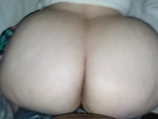 PAWG GETTING FUCKED BBC DOGGY
