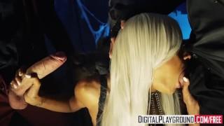 Nevermore Episode 4 Alyssa Divine, Danny D & Nacho Vidal Ghettogaggers skinny