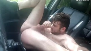 Twink car french young grey jo thony off car