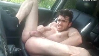 Young French twink car JO - Thony Grey