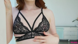 Redhead beauty Ella Hughes pussy smashed well