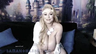 samantha 38g bbw busty blonde member's show archive part 1 cosplay