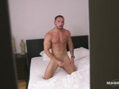 Peeping HOT Straight Big Dick Stud Masturbating