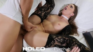 Gold digger in lace fucked anal - HOLED