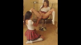 This Teen Bitch Drinks My Piss
