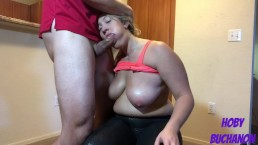 Thick Chick Deepthroat Face Fucked for Free Training