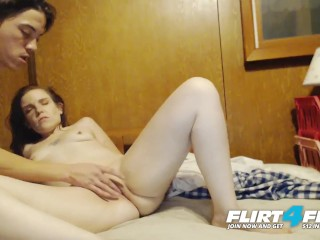 Lynn and Sergio on Flirt4Free - Amateur Couple Sucks and Fucks on Cam