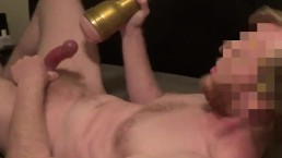 Fleshlight Sucks Ropes Of Cum Out Of My Cock For McClean -- JohnnyIzFine