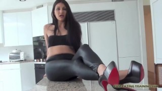 CEI Cum Eating Instructions and Femdom Vids Mom of