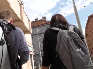 HUNT4K. Brutal guy fucking a hot chick in front of her bf