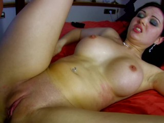 big tit latina slut gets pounded in her ass by hard cock