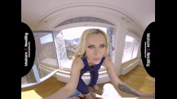 MatureReality - Blonde Milf gets her Pussy trained