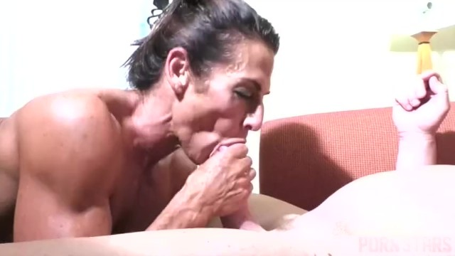 Naked muscle cock doggy anal - Naked female bodybuilder fucks and sucks cock