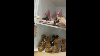 Preview 3 of hot young girls hook up in fitting room