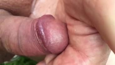 erotic glans massage hairy palm
