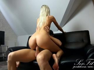 Hot Teen Gets a Morning Fuck! Small Tits & Big Dick!