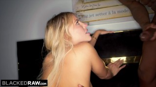 BLACKEDRAW Adriana Chechik Has 3AM Double BBC Craving