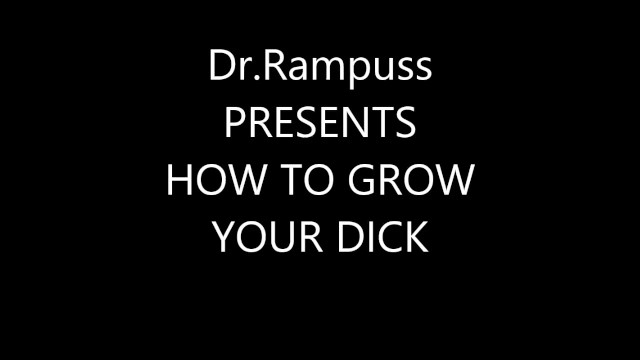 Adult stop growing - How to grow your penis in 30 days.