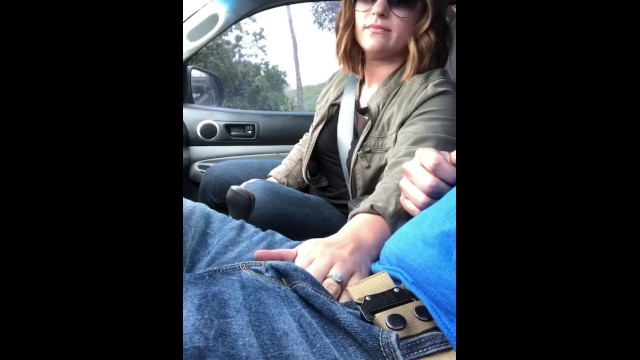 Eros love drive freud Lunchtime handjob while he drives