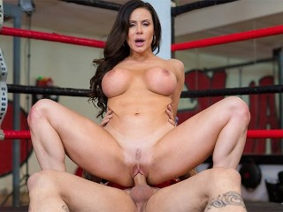 VRBangers.com Busty Kendra Lust getting fucked hard in the boxing ring VR