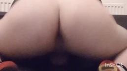Big fat asss bouncing