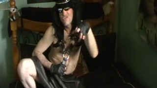 Lex Leather TS  irish guy leather boots sexy guy ts domination transexual big cock leather hung ts eurolex harness irish scally lex irish leather ts escort leather skirt