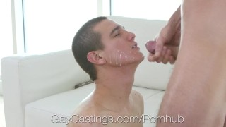 Casting first film agent fuck with gaycastings on sex sucker