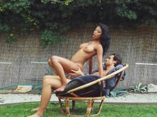 Nia Nacci getting fuck in backyard