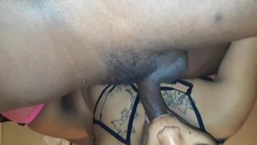 Head then wet pussy