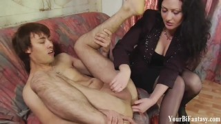 Bisexual and Gay Fantasy and Femdom Training Compilation