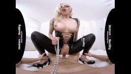 MatureReality - Blonde Milf with milky Boobs