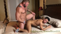 Daddy breeds young hot guy