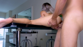 Teen Fuck on Table Closeup Julesjordan dick