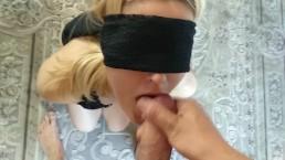 Blind Blowjob POV