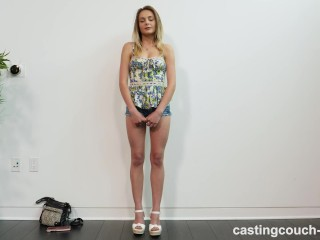 Preview 2 of Quiet Girl Turns Horny During Her Audition For A Rap Music Video