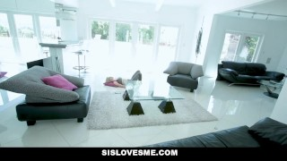Plays sislovesme for stepsis stepbro cute view blonde