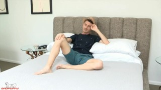 Pulls hole robbie back exposing his his tight legs caruso butt gay