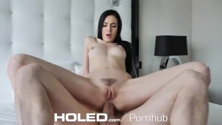 HOLED PULSATING tight ass oozing with cum
