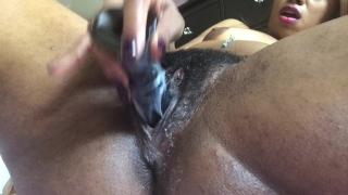 Spread open my pussy & ass - PINK INSIDE