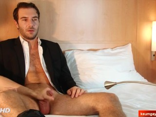 Stefan, str8 dude gets wanked by a gay guy in spite of him.