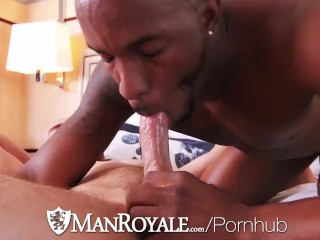 ManRoyale Interracial ASS pounding