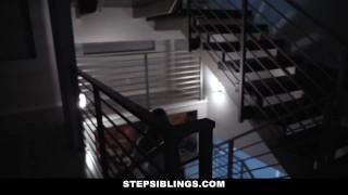 StepSiblings - Horny Stepsis Plowed by Stepbro in Bathroom