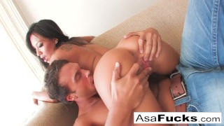 Solid gets fuck asa and hard a kissing brunette