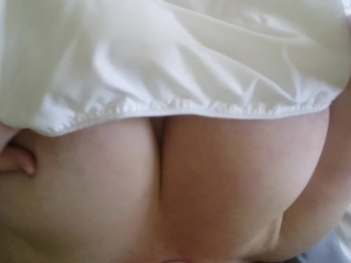 Bigtits4bigcock Plays in Bed